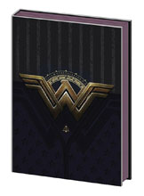 Image: Wonder Woman Journal: Metal Foil Insignia  - Pyramid America, Lp