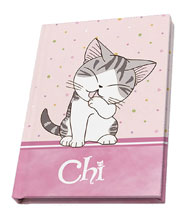 Image: Chis Sweet Home: Polka Dot Mini-Journal  - Abysse America Inc
