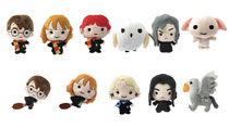 Image: Harry Potter 3D Plush Keyring 24-Piece Blind Mystery Box Display  - Monogram Products