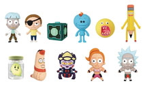 Image: Rick and Morty Series 2 3D Figural Keyring 24-Piece Blind Mystery Box Display  - Monogram Products