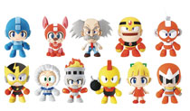 Image: Megaman 3D Figural Keyring 24-Piece Blind Mystery Box Display  - Monogram Products