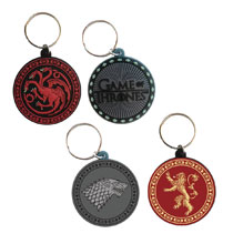 Image: Game of Thrones Keychain 48-Piece Display  - Pyramid America, Lp