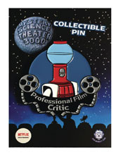 Image: Mystery Science Theater Pin: Tom Film Critic  - Zen Monkey Studios LLC