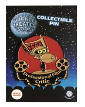 Image: Mystery Science Theater Pin: Crow Film Critic  - Zen Monkey Studios LLC