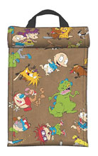 Image: Nickelodeon Roll Top Insulated Lunch Bag  - Bioworld Merchandising