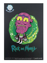 Image: Rick and Morty Pin: Scary Terry in Undies  - Zen Monkey Studios LLC