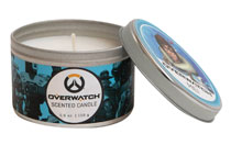 Image: Overwatch Scented Candle Tin: Mei  (5.6 ounce) - Insight Editions