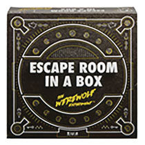 Image: Escape Room in a Box Game Case  - Mattel Toys