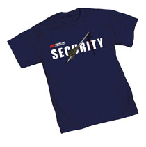 Image: Arrow T-Shirt: Merlin Security  (L) - Graphitti Designs