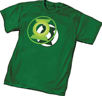 Image: Green Lantern T-Shirt: Power Symbol  (S) - Graphitti Designs