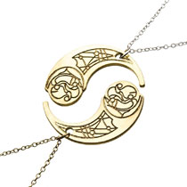 Image: Star Wars Necklace: Crescent Hasian Smelt  - Sales One LLC
