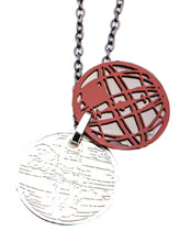 Image: Star Wars Necklace: Death Star Pendant  - Sales One LLC