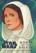 Image: Star Wars: Women of the Galaxy Collectible Postcard Book  - Chronicle Books