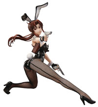 Image: Black Lagoon PVC Figure: Revy  (Bunny version) (1/4 scale) - FREEing