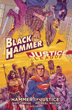 Image: Black Hammer / Justice League: Hammer of Justice HC  - Dark Horse Comics