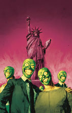 Image: Mask: I Pledge Allegiance to the Mask #4 (cover A - Reynolds) - Dark Horse Comics