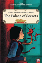 Image: Disney Mulan's Adventure Journal: Palace Secrets SC  - Dark Horse Comics