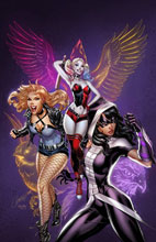 Image: Birds of Prey #1 (variant cover - J. Scott Campbell) - DC Comics