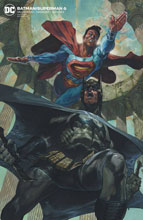 Image: Batman / Superman #6 (variant card stock cover - Mark Brooks) - DC Comics