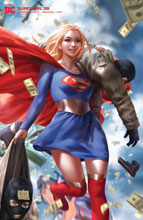 Image: Supergirl #38 (variant card stock cover - Derrick Chew) - DC Comics
