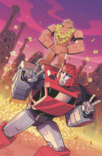 Image: Transformers: Galaxies #5 (incentive 1:10 cover - Malkova) - IDW Publishing