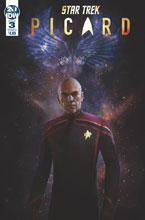 Image: Star Trek: Picard #3 (cover A - Pitre-Durocher) - IDW Publishing
