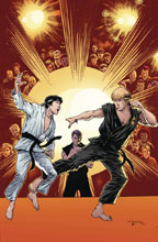 Image: Cobra Kai: Karate Kid Saga Continues #4 (cover A - McLeod) - IDW Publishing
