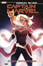 Image: Marvel Action: Captain Marvel Vol. 01: Cat-Tastrophe SC  - IDW Publishing