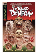 Image: H.G. Wells' The Island of Dr. Moreau HC  - IDW Publishing
