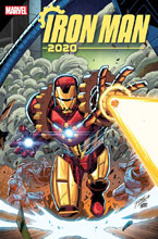 Image: Iron Man 2020 #1 (variant cover - Ron Lim) - Marvel Comics