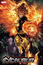 Image: Excalibur #5 (DX) (incentive Dark Phoenix 40th cover - Tan) - Marvel Comics