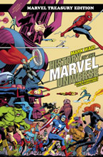 Image: History of Marvel Universe Treasury Edition SC  (variant DM cover - Javier Rodriguez) - Marvel Comics