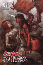 Image: Red Sonja: Age of Chaos #1 (cover A - Parrillo) - Dynamite