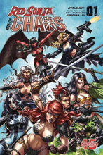 Image: Red Sonja: Age of Chaos #1 (cover B - Quah) - Dynamite