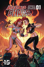 Image: Red Sonja: Age of Chaos #1 (cover D - Garza) - Dynamite