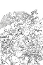 Image: Red Sonja: Age of Chaos #1 (incentive 1:50 cover - Quah Sketch virgin) - Dynamite