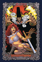 Image: Red Sonja: Age of Chaos #1 (incentive 1:60 cover - Romita Icon) - Dynamite