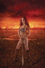 Image: Red Sonja: Age of Chaos #1 (variant Cosplay cover - ) (signed - Kingston)) - Dynamite