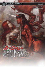 Image: Red Sonja: Age of Chaos #1 (variant Atlas cover - Lucio Parrillo) (signed - Burnham) - Dynamite