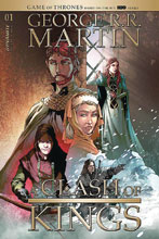 Image: George R.R. Martin's A Clash of Kings #1 (cover B - Rubi) - Dynamite