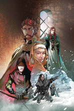 Image: George R.R. Martin's A Clash of Kings Vol. 02 #1 (incentive 1:10 cover - Rubi virgin) - Dynamite