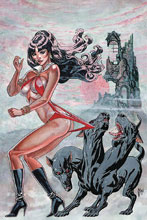 Image: Vampirella #7 (incentive 1:40 cover - March virgin) - Dynamite
