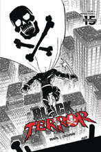 Image: Black Terror Vol. 02 #4 (incentive 1:30 cover - Level B&W)  [2020] - Dynamite