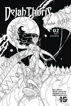Image: Dejah Thoris Vol. 03 #2 (incentive 1:20 cover - Conner B&W) - Dynamite