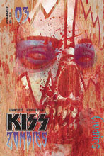 Image: Kiss: Zomibes #3 (cover A - Suydam) - Dynamite