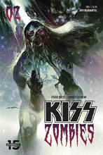 Image: Kiss: Zomibes #3 (cover B - Sayger) - Dynamite