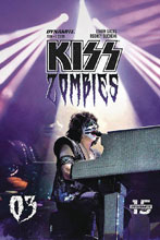 Image: Kiss: Zomibes #3 (cover D - Photo) - Dynamite
