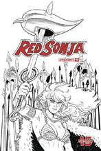 Image: Red Sonja Vol. 05 #12 (incentive 1:20 cover - Conner B&W) - Dynamite