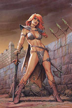 Image: Red Sonja #12 (variant cover - Linsner virgin) - Dynamite