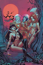 Image: Red Sonja and Vampirella Meet Betty and Veronica #8 (incentive 1:30 cover - Braga virgin) - Dynamite